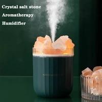 Humidificateur Portable Usb en cristal daromatherapie  diffuseur dhuile essentielle et darome sans fil  humidificateur dair avec lampe dambiance domestique