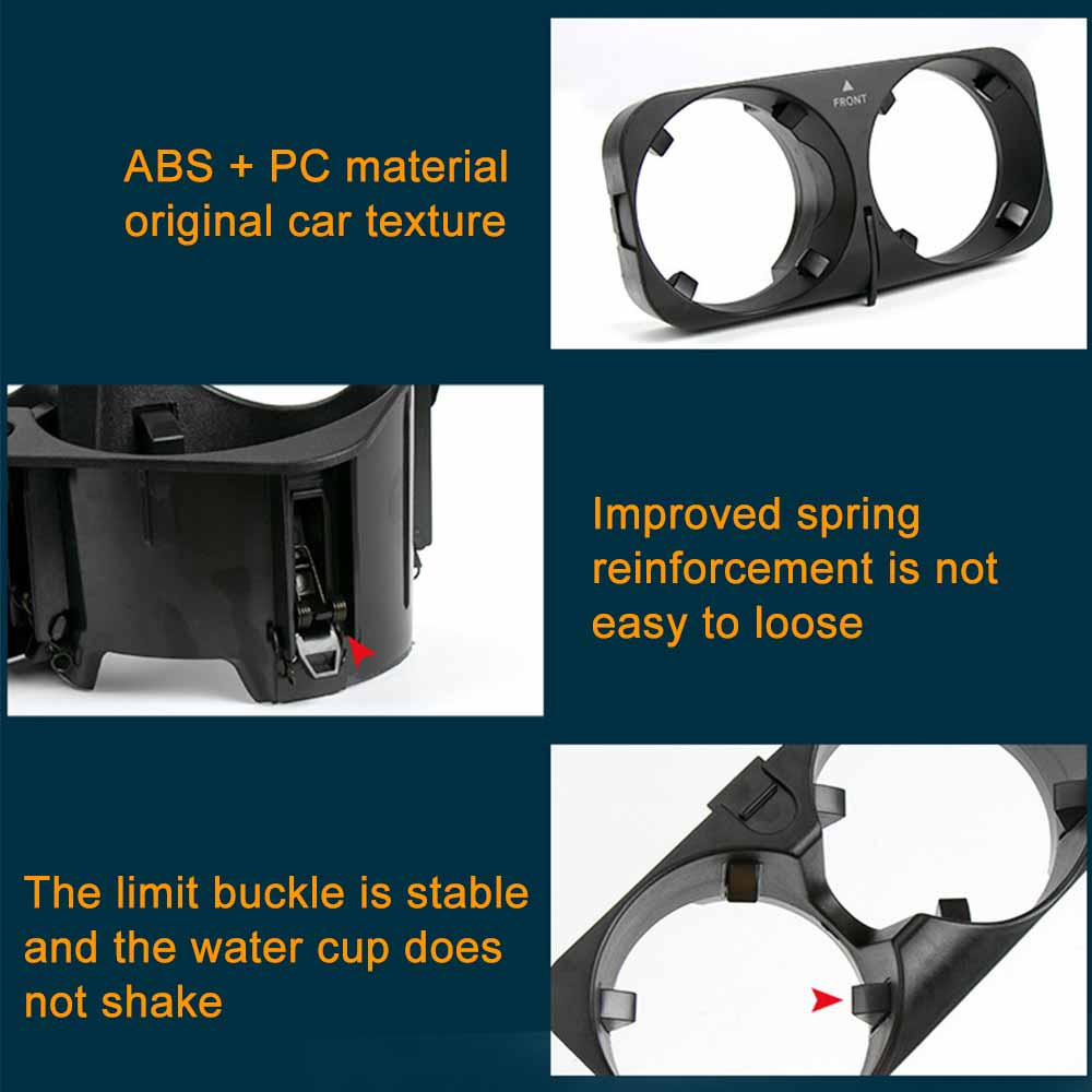Car Centre Console Cup Drink Holder for Mercedes Benz S-Class W221 2006-2013  2216801991 Replacement enlarge