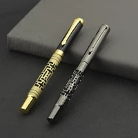 high quality metal luxury 0 5mm rollerball pen ballpoint pen business writing signing ball pens office school supplies 03774