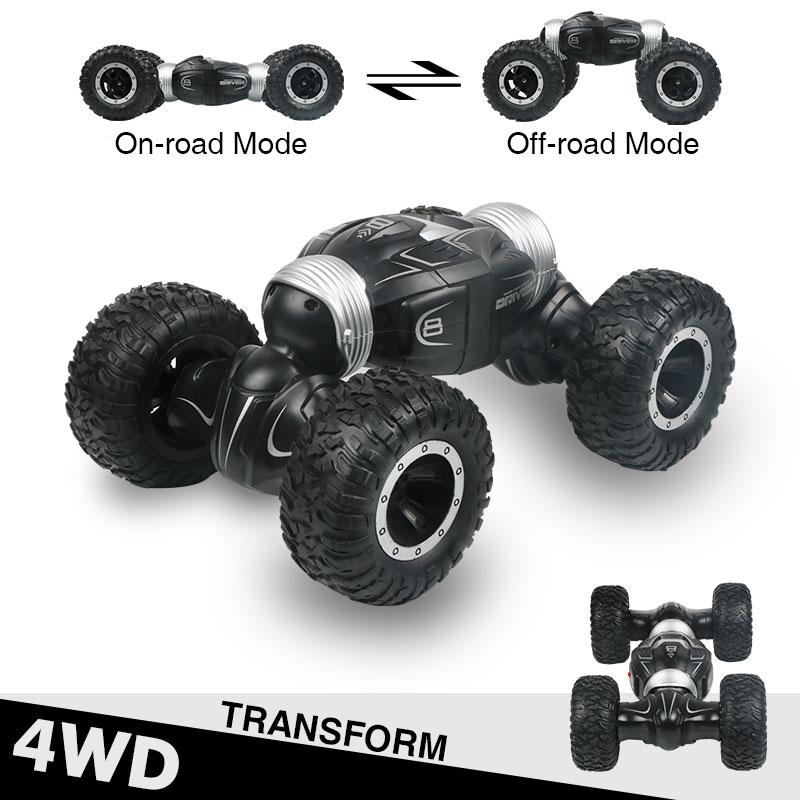 JJRC Q70 RC سيارة عربات التي تجرها الدواب 2.4GHz 4WD عالية السرعة التحكم عن بعد سيارة حيلة راديو التحكم نموذج سيارة اللعب التحكم آلة الأولاد اللعب