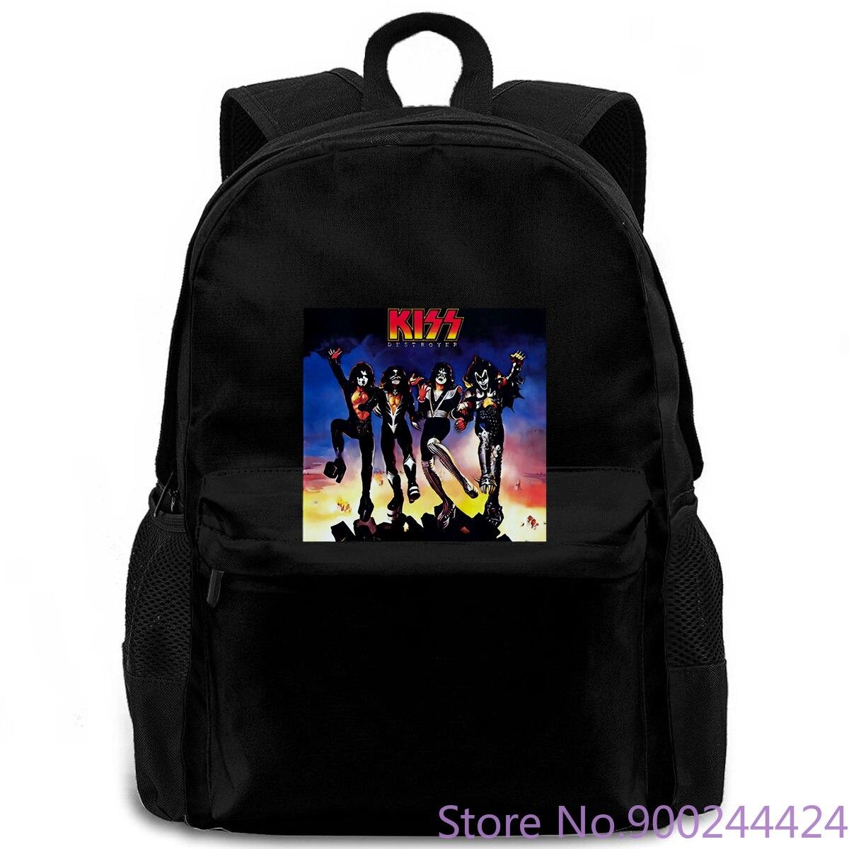 Kiss glam металлический ремешок Paul Stanley Frehleys Comet новейший Женский Мужской рюкзак для ноутбука, путешествий, школы для взрослых студентов