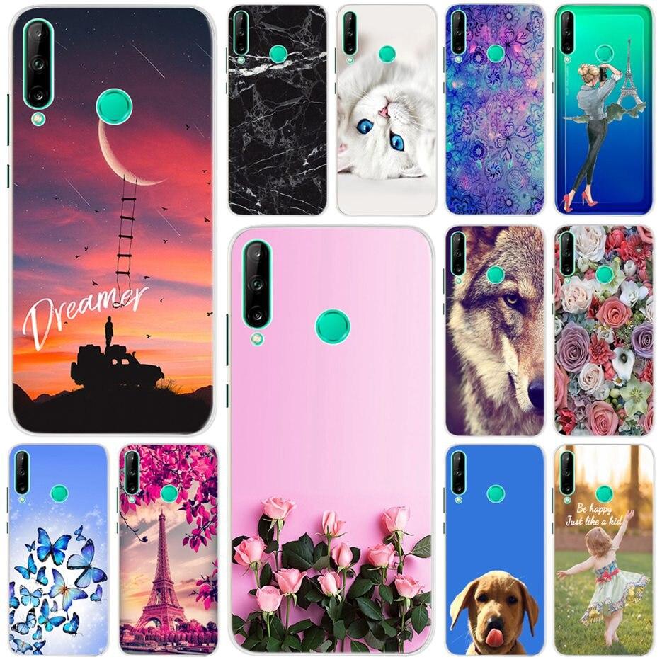 3D Fashion Case For Huawei Y7p 2020 Cover ART-L28 ART-L29 Soft Silicone Cute Animal Case For Huawei Y7p 2020 Phone Fundas Bumper