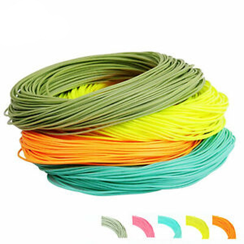 30.5M Fly Fishing Line Multicolor Fly Line WF Weight Front Floating Main Line Floating Fly Fishing Line Fishing Accessories beau beasley fly fishing virginia