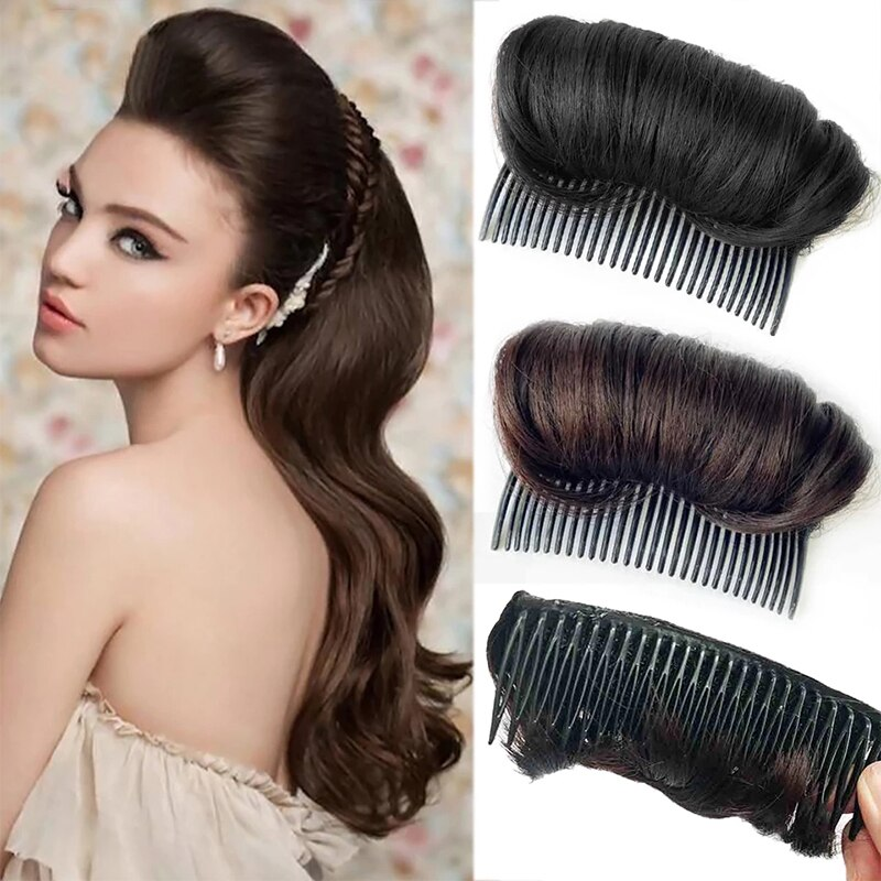 2019 Bun Wig Hair Extension Hair Piece for Women Every Day Hairpin