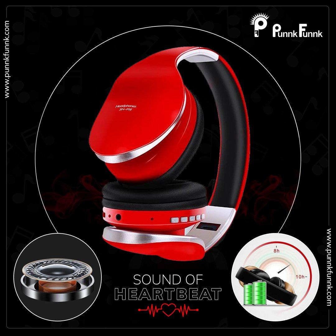 Auriculares inalámbricos PunnkFunnk V5.0 + EDR, auriculares Bluetooth para teléfono móvil Mp3, auriculares estéreo plegables con reducción de ruido para juegos