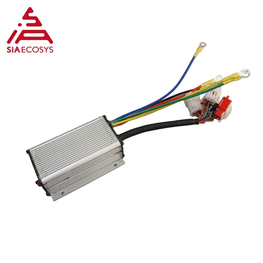 QS KLS7230S 24v-72V 300A,72v SINUSOIDAL BRUSHLESS MOTOR CONTROLLER for in-wheel hub motor enlarge