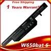 Batterie pour Clevo W650BAT-6 W650SJ pour HASEE K590C-I3 K610C-I5 K710C-I7 K650D K570N K590C