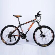VTT 26 pouces amortisseur frein à disque changement de vitesse VTT nouveau Double frein en acier cadre vélo