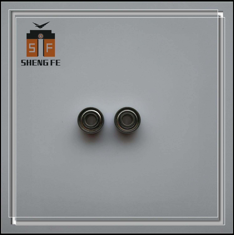 Rodamiento de carrete de pesca SMR693C-ZZ 3x8x4 ABEC-7   Rodamiento de bolas 830ZZ   [lubricante seco] rodamiento de cerámica híbrido de acero inoxidable MR693 ZZ