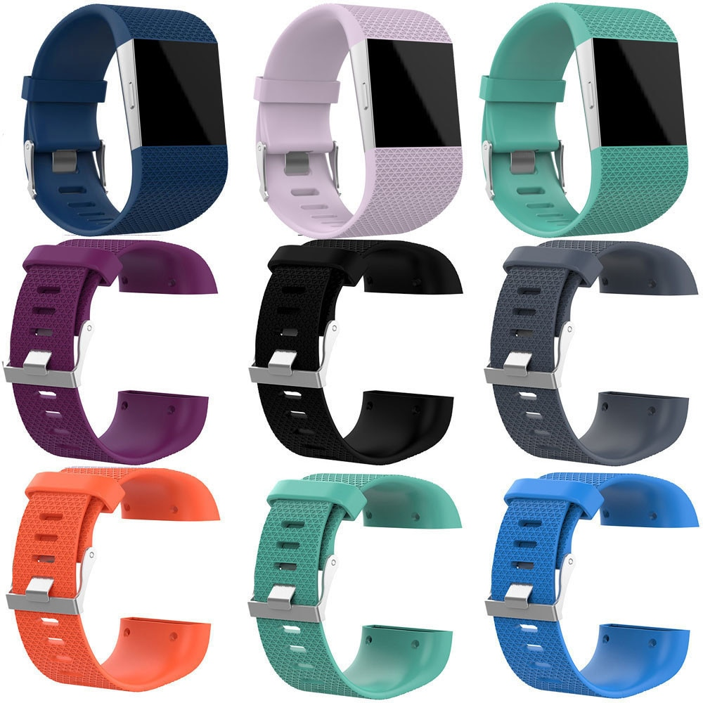 Smart Accessories For Fitbit Surge strap Band Replacement Sport Silicone bracelet Watch Band For Fitbit Surge Watch Strap Bands watch strap new accessory watch strap solid stainless steel fashion luxury women metal strap bands for fitbit ionic strap