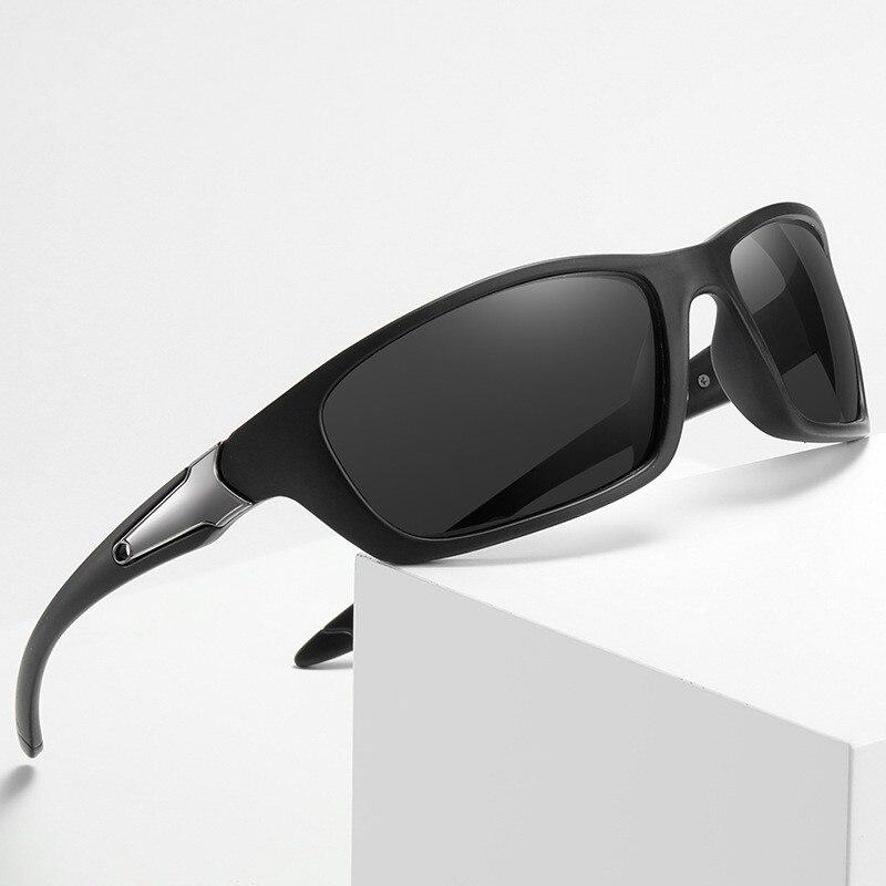 Men Polarized Sunglasses Goggle UV400 Sports Cycling Glasses Fashion Rays Brand Designer Driving Sun