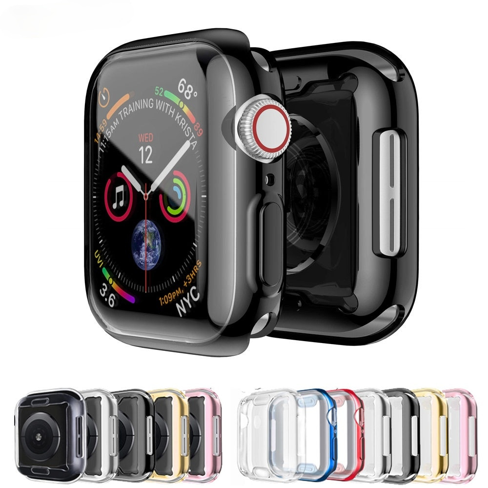 Caso para Apple Watch Serie 6/5/4/SE 44mm 40mm iWatch 3 42mm/38mm amortiguador...