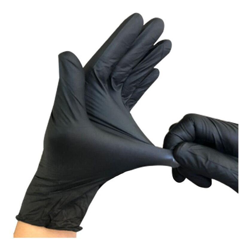 100 pièces/lot gants en Nitrile jetables travail nourriture préparation cuisson gants/cuisine alimentaire étanche Service nettoyage gants sécurité