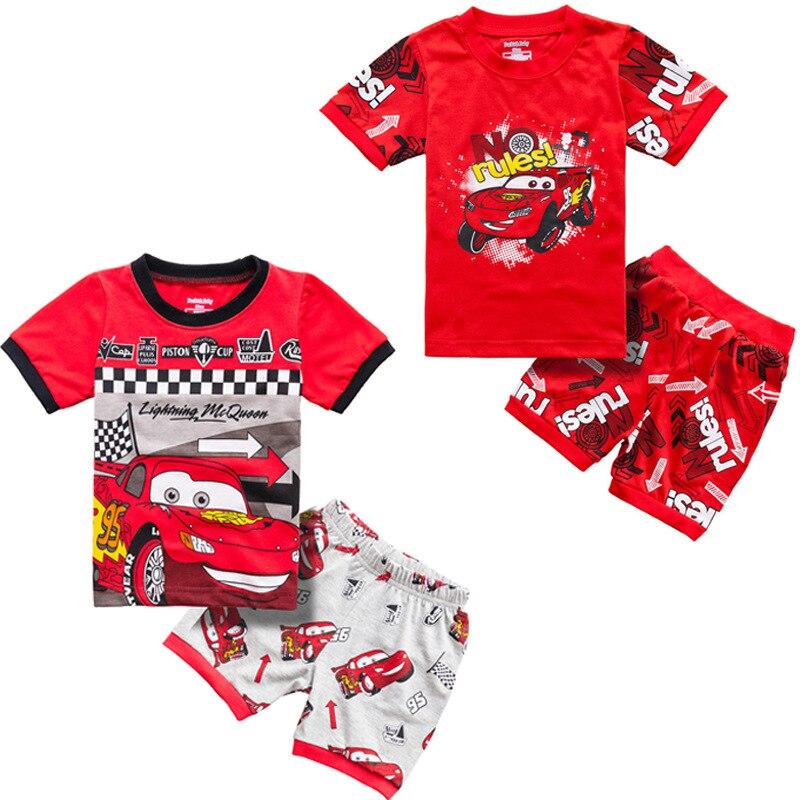 Carros da disney bonecas originais brinquedos pixar carros mcqueen jackson crianças pijamas menino pijamas de algodão roupa de dormir presente