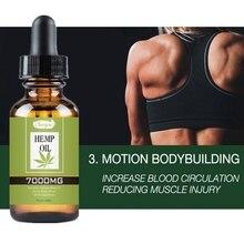 30ml réduire lanxiété huile de Massage de graines de chanvre soulager la douleur améliorer le sommeil promouvoir la Circulation sanguine Hotsale