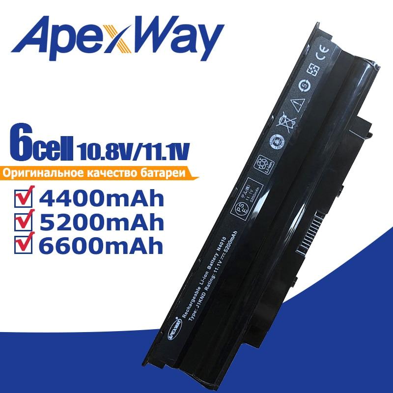 Apexway J1KND Laptop battery For Dell Inspiron N5020 N5030 N5040 N5050 N4010 N5010 N5110 N7010 For Vostro 1450 3450 3550 3750