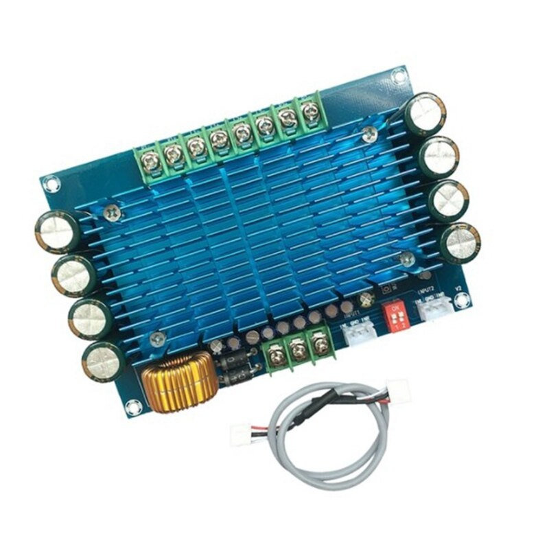 Potência o Amplificador 12v de Alta Carro Canais Módulo Placa Amplificador Estéreo 4x50w Xh-m180 Tda7850 4