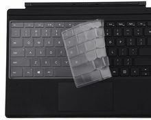 Ultra Dunne Tpu Laptop Toetsenbord Cover Skin Protector Voor Microsoft Surface Pro 2017 & Oppervlakte Pro 4 Soft-Touch precisie Toetsenbord