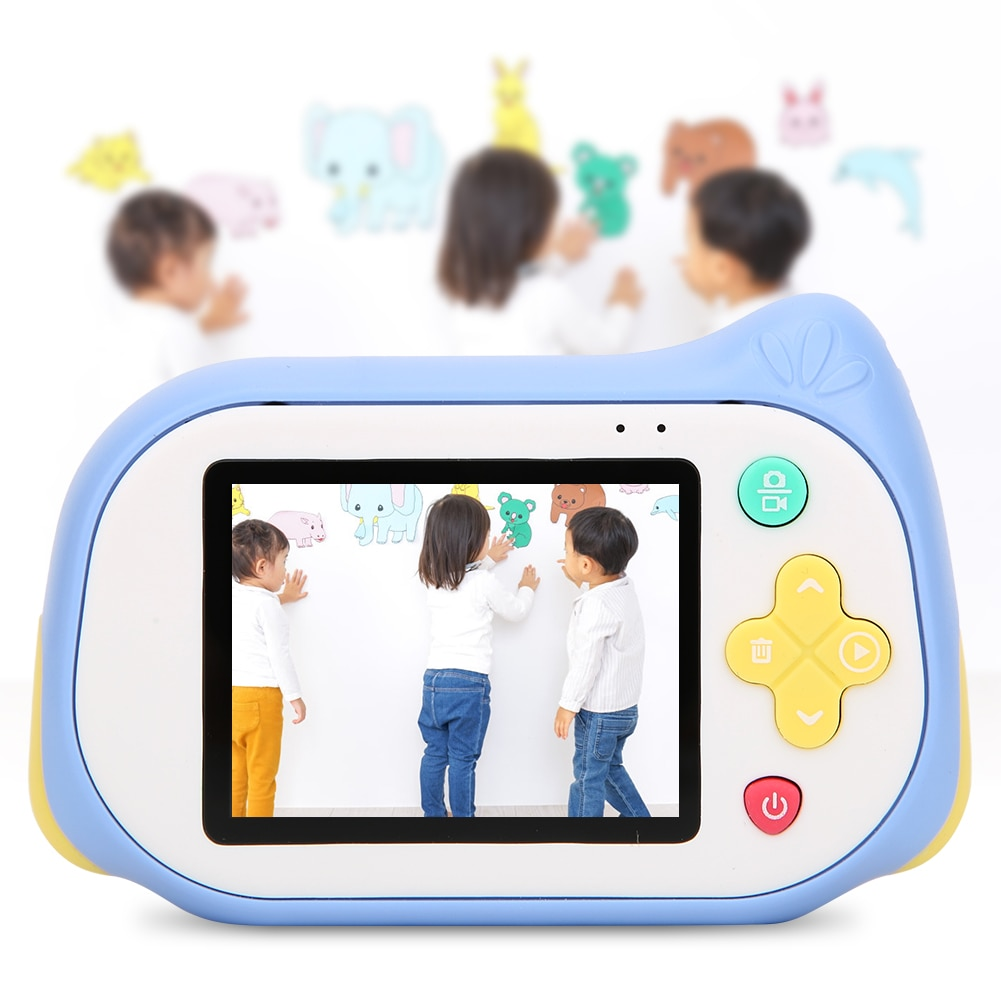 Kids Camera 2 inch Screen Children Digital Camera Gift For Kids Boys Girls HD Video Camcorder Camera Toy Gift Microscope Camera