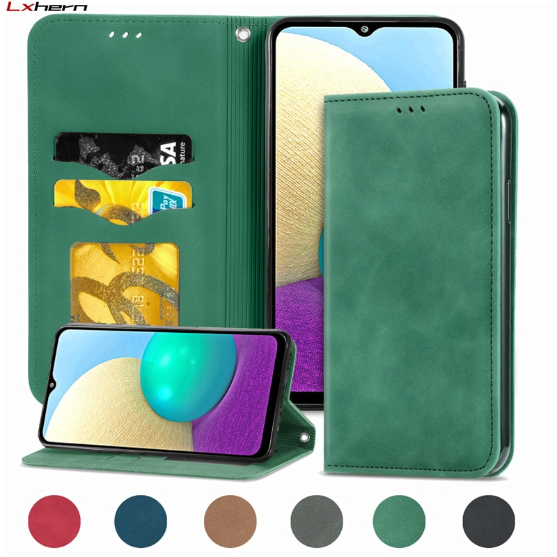 Redmi Note 10 Retro Leather Wallet Cover For Redmi Note 10 10S 9T 9 8 8T 7 Pro Max 5G 9A 9C 8A 7A Y3 Magnetic Card Holder Case