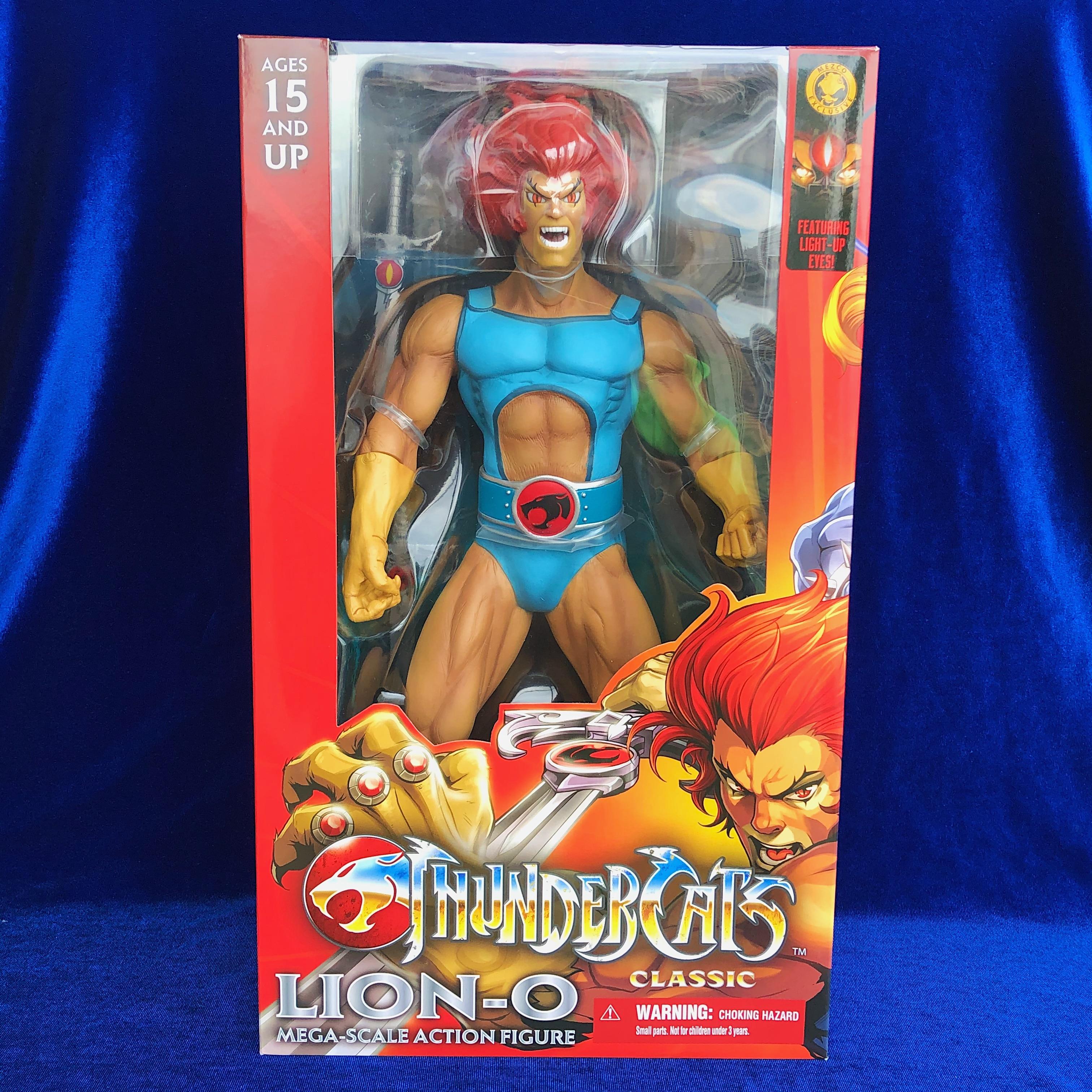 15 بوصة ميزكو سوبر بطل thundercat واحد: 6 الأسد-O بك عمل الشكل دمية على شكل عروسة هدية