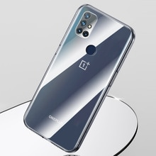 Soft Silicone Clear TPU for Oneplus Nord N10 N100 NordN10 5G Phone Case Transparent Ultrathin Camera