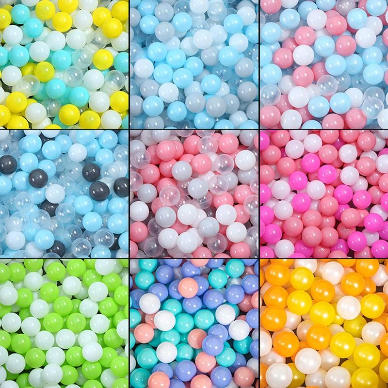 100 шт., Детские Пластиковые Мячи для бассейна