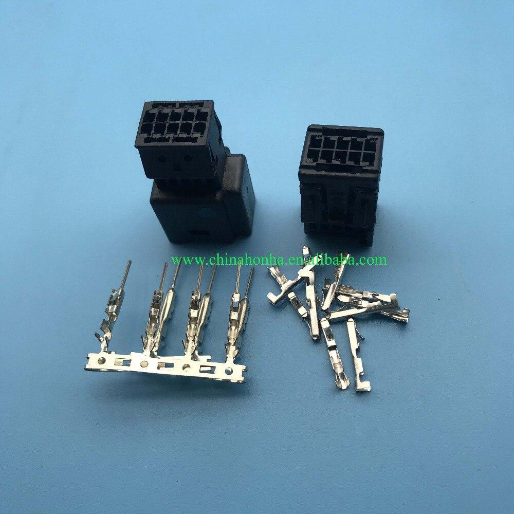 2/5/10/20pcs 10 pin feminino e masculino conector do chicote automotivo fio 1355789-1 1-929270-1