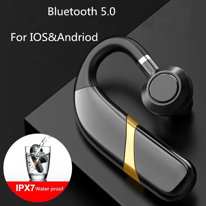 Auriculares Bluetooth manos libres negocios X9 con micrófono Control de voz auriculares inalámbricos pk i7s i11 i12 i20 i60