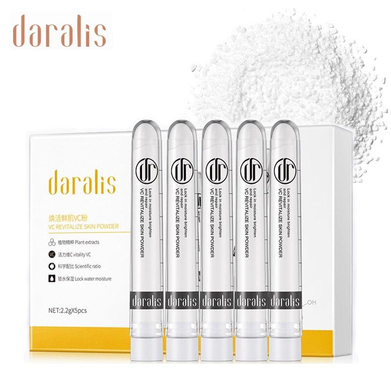 Cuidado de la piel de la vitamina C pura crema en polvo con Centella asiática quitar la pigmentación peca manchas crema blanqueadora