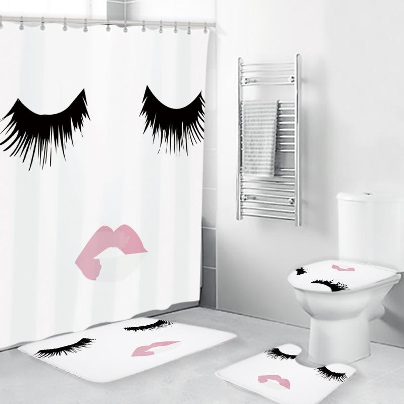 Cortinas De baño modernas, juego De cortina De ducha, Dormitorio, decoración del...