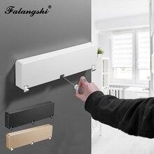 Sèche-linge à corde métallique 3 lignes   Support pour sécher les vêtements, sèche-linge à Triple couche, pour la salle de bain et la salle de bain, WB3012