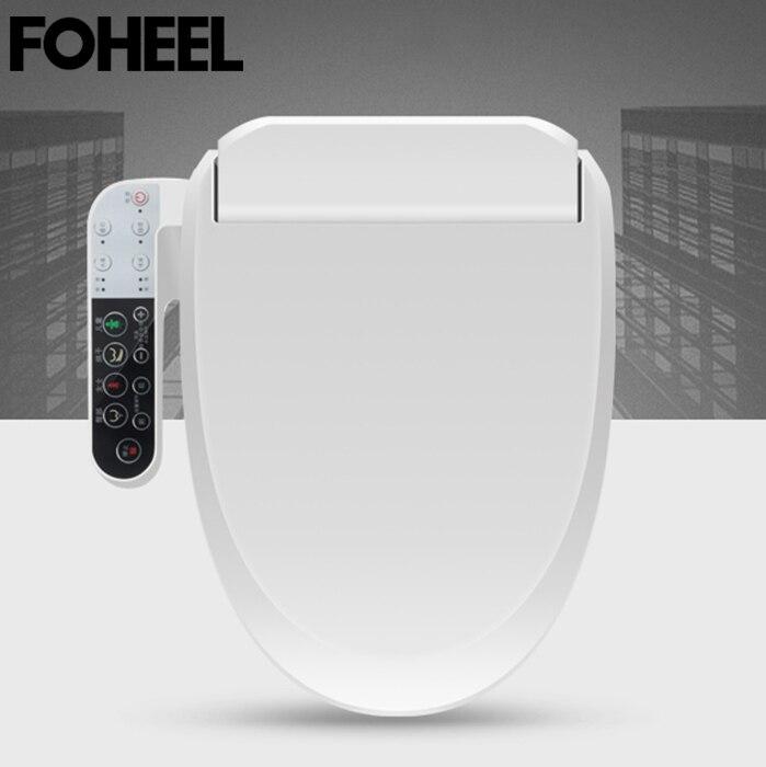 FOHEEL-غطاء بيديت ذكي ، مقعد مرحاض ، تنظيف ، تدليك ، تجفيف ، تدفئة