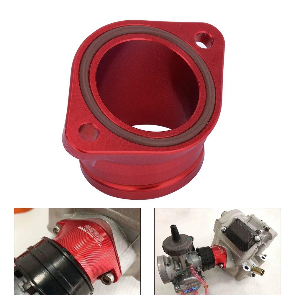 De aluminio CNC carburador colector de admisión de Motocross O-anillo para ZONGSHENG NC250 NC450 NC 250 de 450