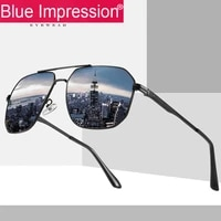 new polarized sunglasses for men women sun glasses metal square eyewear for drivers gafas de sol para hombre shades for women
