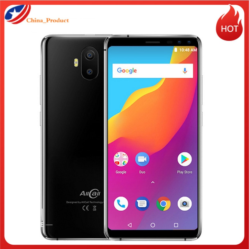 AllCall S1 смартфон с 5,5-дюймовым дисплеем, четырёхъядерным процессором MTK6580A, ОЗУ 2 Гб, ПЗУ 16 ГБ, 8 Мп + 2 МП, Android 5,5, 5000 мАч