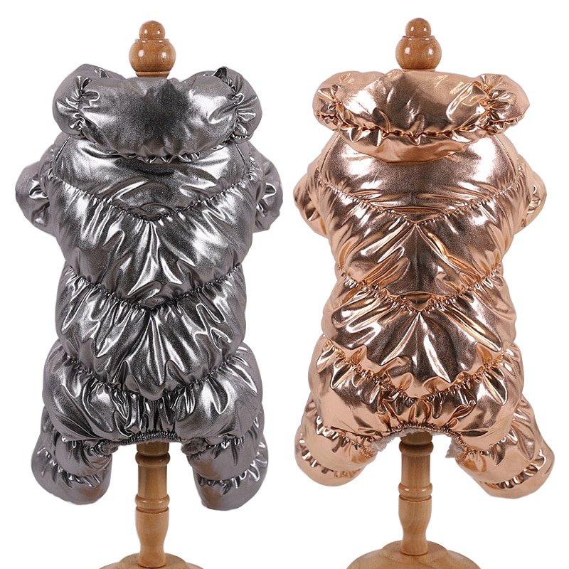 Waterproof Dog Jacket Coat Winter Warm Pet Clothes for Small Dogs Pug French Bulldog Jumpsuit Clothing Puppy Chihuahua Costumes
