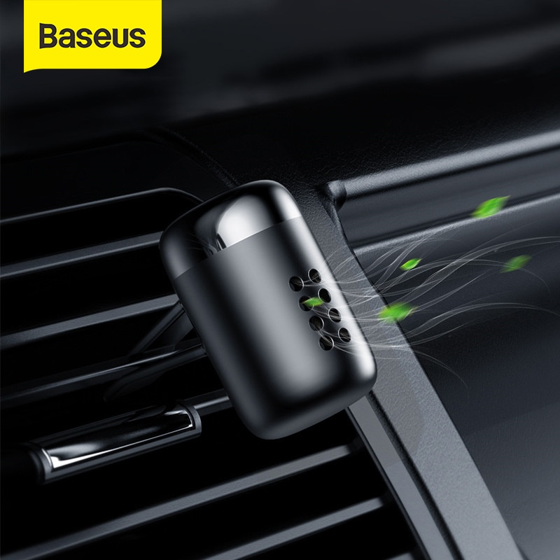 Baseus Metal Car Perfume Air Freshener Aromatherapy Solid for Car Air Vent Outlet Freshener Air Cond