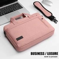 laptop bag sleeve shoulder bag notebook carrying case for pro13 14 15 6 inch macbook air 13 3 case asus acer lenovo dell handbag