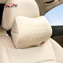 Four Seasons General Car Seat Headrest Neck Care Pillow Breathable Massage Neck Protective Space Mem