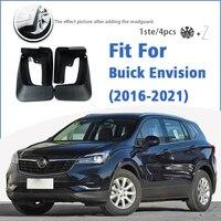 mudguard for buick envision 2016 2021 front rear 4pcs mudflaps mudguards car accessories auto styline splash guard fender