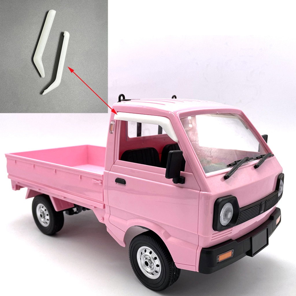 2x Pickup Truck Rain  1/16 for WPL D12 RC Car Model Replace Kids Toy
