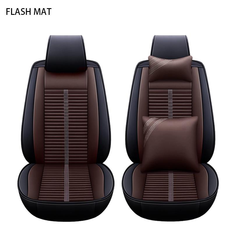 Universal car seat cover for kia rio 3 ceed spectra sportage 2018 picanto cerato k2 soul niro all models Auto accessories