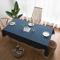 modern table cloth for rectangular table cloth for home fabric wedding decoration table linen tablecloth with embroidery kitchen