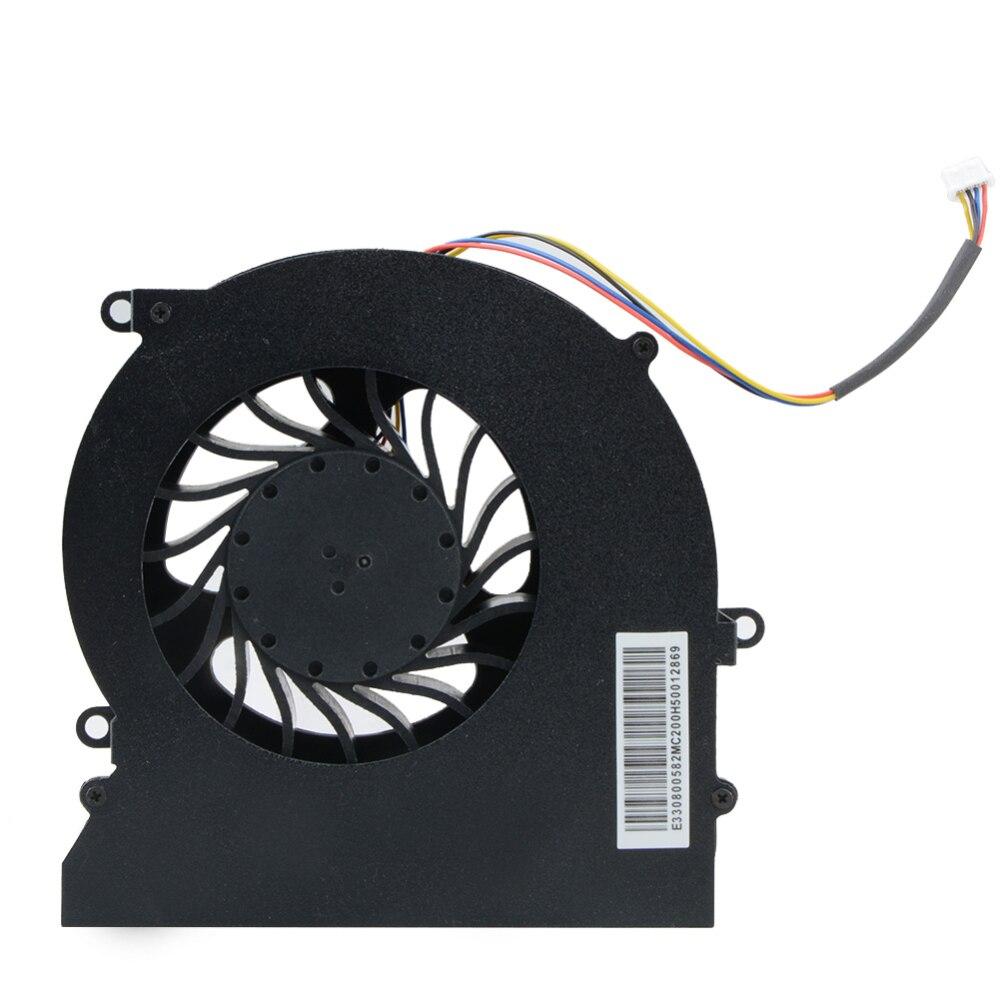 4PIN CPU GPU ventilador de refrigeración enfriador para MSI 16L1 16L2 GT62 GT62VR 6RD 6RE 7RE PABD19735BM N322 DC 12V 0.65A