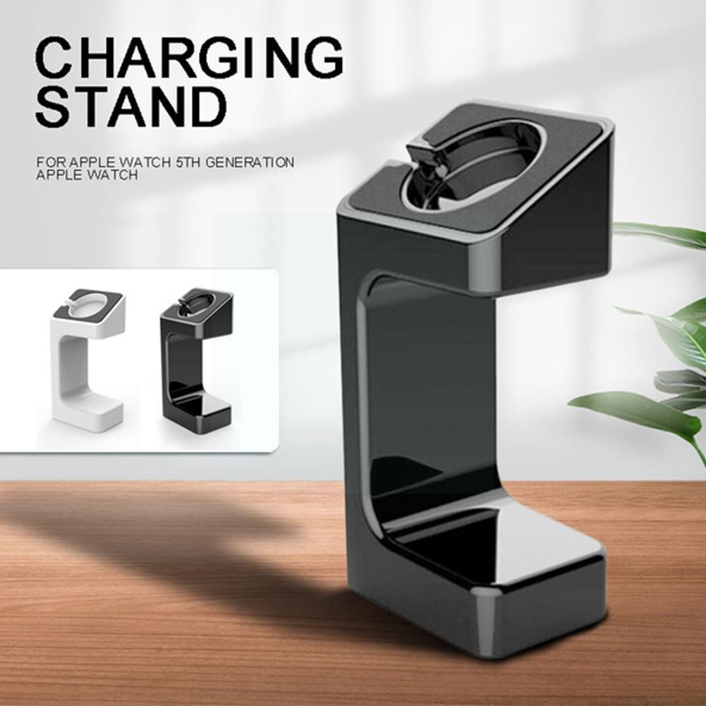Charger Dock Station Holder Watch Band Mount Stand Series For Apple Smart Holder Watch Charging Base Watch Charging watch S O1S7 ym wd05 c creative bamboo mobile phone smart watch charging holder multi function charger stand usb smartphone charging base