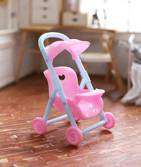 OB11 accesorios para casa de muñecas accesorios para muebles Mini silla de bebé bonita para 1/12 tamaño ob11 cu-poche GSC accesorios para muñecas de arcilla