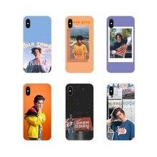 Conan Grigio Accessori Del Telefono Custodie Coperture Per Apple iPhone X XR XS 11Pro MAX 4S 5S 5C SE 6S 7 8 Più ipod touch 5 6