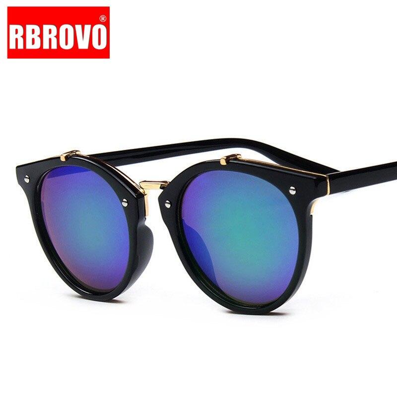 RBROVO 2021 роскошные женские солнцезащитные очки с заклепками конфетных цветов UV400 Oculos De Sol Feminino Vintage Classic Outdoor очки для путешествия
