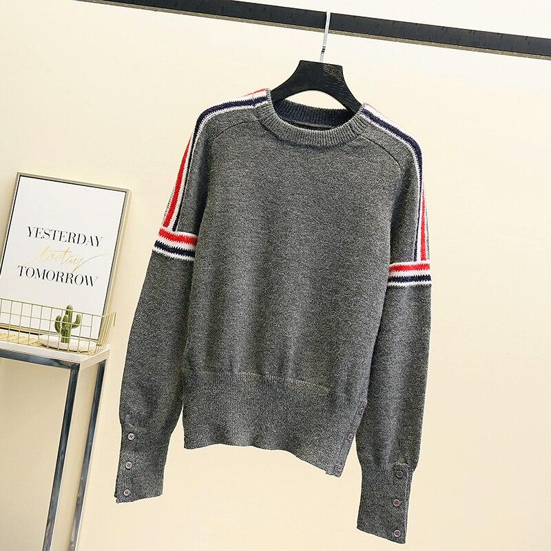 Vintage Embroidery Winter Sweater Women Pullover Oversize Korean Harajuku Clothing smail Knit Jumper Kawaii Ulzzang Knitwear enlarge